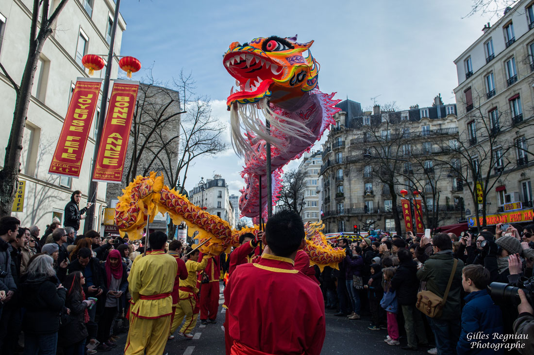 Gilles Regniau photographe Paris Nouvel an chinois